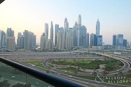 فلیٹ 1 غرفة نوم للايجار في أبراج بحيرات جميرا، دبي - 1BR| Furnished |Marina & Golf Course View