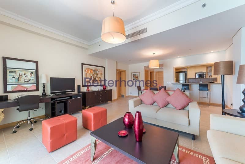 Fully Furnished | 1 Bedroom | Full Sea View