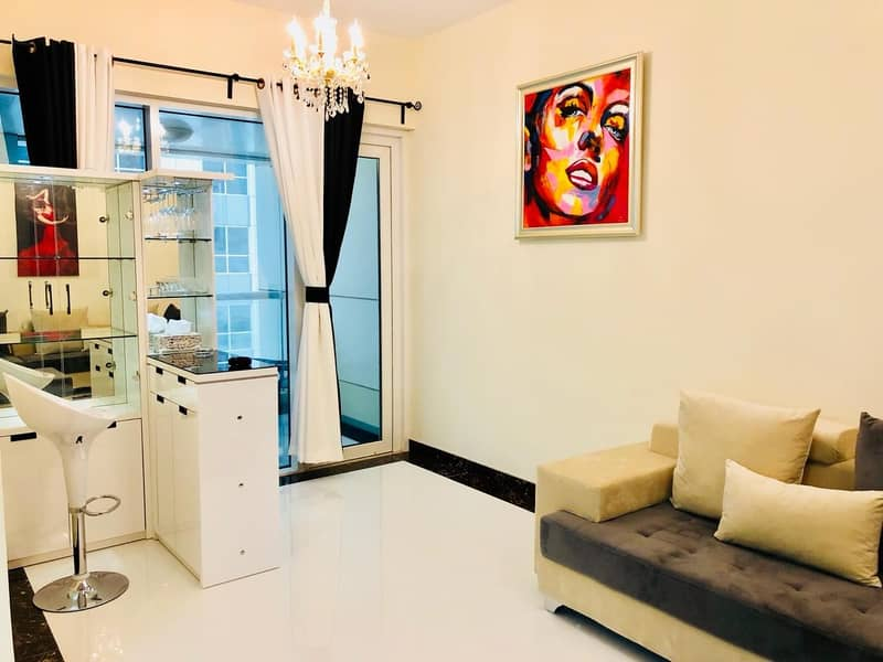 12 FULLY UP GRADED | FULLY FURNISHED | HIGHER FLOOR