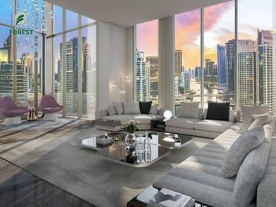 فلیٹ 2 غرفة نوم للبيع في دبي مارينا، دبي - 3 Yr Payment Plan| Amazing Sea View on High Floor