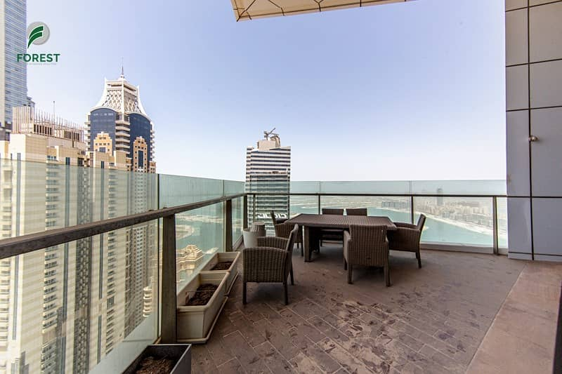 20 Amazing Full Sea View | Spacious 4BR | Vacant