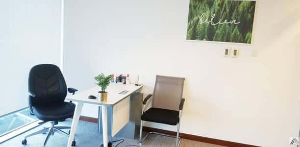 Office for Rent in Sheikh Zayed Road, Dubai - FULLY FURNISHED & SERVICED OFFICES FOR NEW LICENSE |RENEWAL |UNLIMITED VISAS|LABOR INSPECTIONS|MEETING ROOM  FACILITY