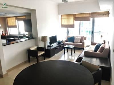 1 Bedroom Apartment for Rent in Dubai Marina, Dubai - Furnished 1BR with Pool View | Great Location