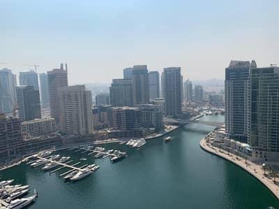 شقة 3 غرفة نوم للبيع في دبي مارينا، دبي - 3 Beds plus Maids - Facing Marina