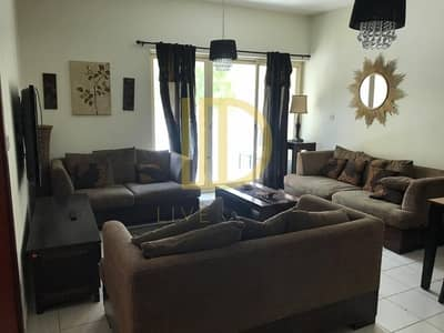 1 Bedroom Flat for Rent in The Greens, Dubai - Furnished 1 Bed in Greens Al Arta Ground Floor-HL