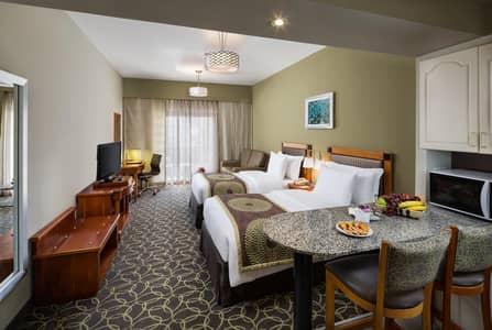Hotel Apartment for Rent in Bur Dubai, Dubai - Twin Bed Room