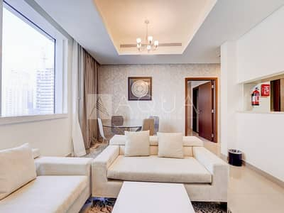 فلیٹ 1 غرفة نوم للايجار في دبي مارينا، دبي - Full Marina View | Chiller free | Furnished