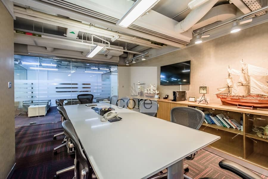 2 Fitted Office | Well Located | High Floor