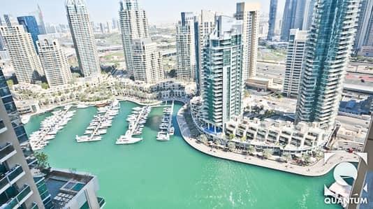 فلیٹ 2 غرفة نوم للبيع في دبي مارينا، دبي - Exclusive | Marina View | Motivated Seller!