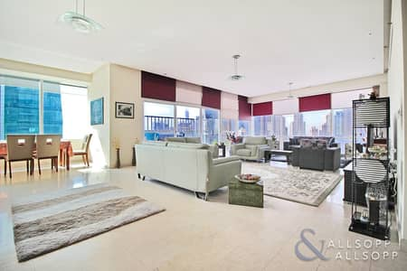 3 Bedroom Apartment for Sale in Jumeirah Lake Towers (JLT), Dubai - 3 Bedroom | Plus Maids | Over 3000 Sq.Ft