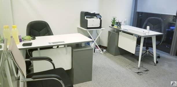 مکتب  للايجار في بر دبي، دبي - Fully FurnishedServicedIndependent Smart OfficesBusiness Centre Linked with Burjuman Metro