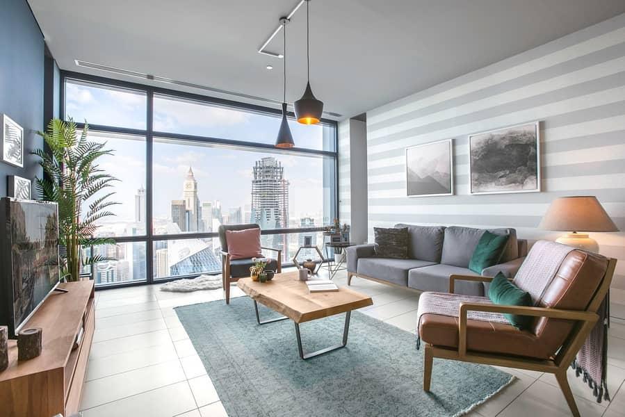 High Floor | DIFC View | Vacant Soon