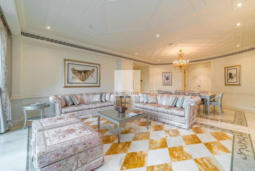 2 Bespoke Luxury Three Bed Palazzo Versace