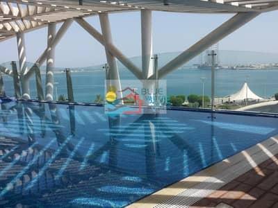 فلیٹ 2 غرفة نوم للايجار في منطقة الكورنيش، أبوظبي - Luxury 2b plus maids room  at Corniche