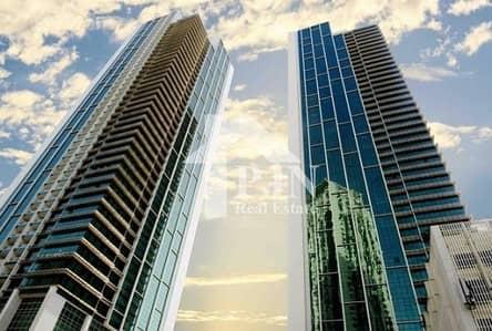 2 Bedroom Flat for Sale in Al Reem Island, Abu Dhabi - 2BR+Maid with 7.7% ROI In Ocean Terrace.