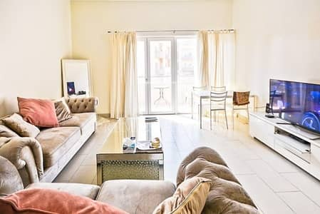 1 Bedroom Apartment for Sale in Jumeirah Village Circle (JVC), Dubai - Fully furnished 1 bedroom Apartment with Pool view