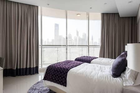 شقة 2 غرفة نوم للبيع في وسط مدينة دبي، دبي - Fully Furnished Upgraded 2 Bedroom High floor