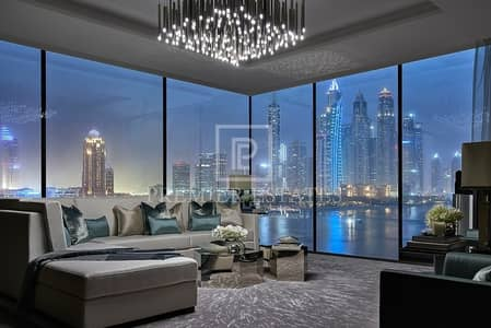 5 Bedroom Penthouse for Sale in Palm Jumeirah, Dubai - Triplex Luxury Penthouse