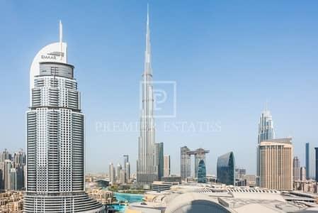شقة 2 غرفة نوم للبيع في وسط مدينة دبي، دبي - EXCLUSIVE- Fountain Views  2BR +study