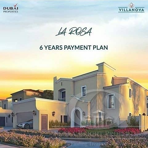 6 years payment plan|5% Booking|10