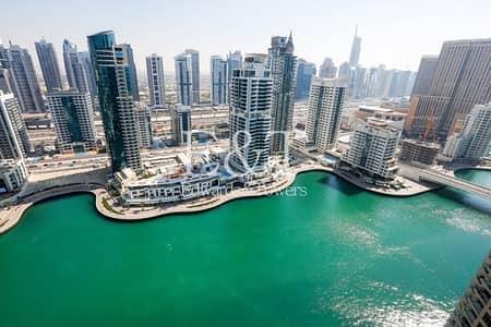 فلیٹ 2 غرفة نوم للبيع في دبي مارينا، دبي - Breathtaking Marina View | High Floor