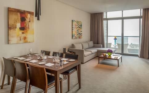 2 Bedroom Hotel Apartment for Rent in Dubai Marina, Dubai - Spectacular Sea View Apartment