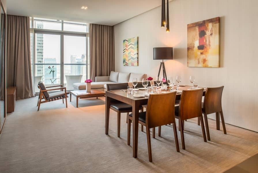 2 Spacious JBR/Marina View Apartment - Fully Serviced