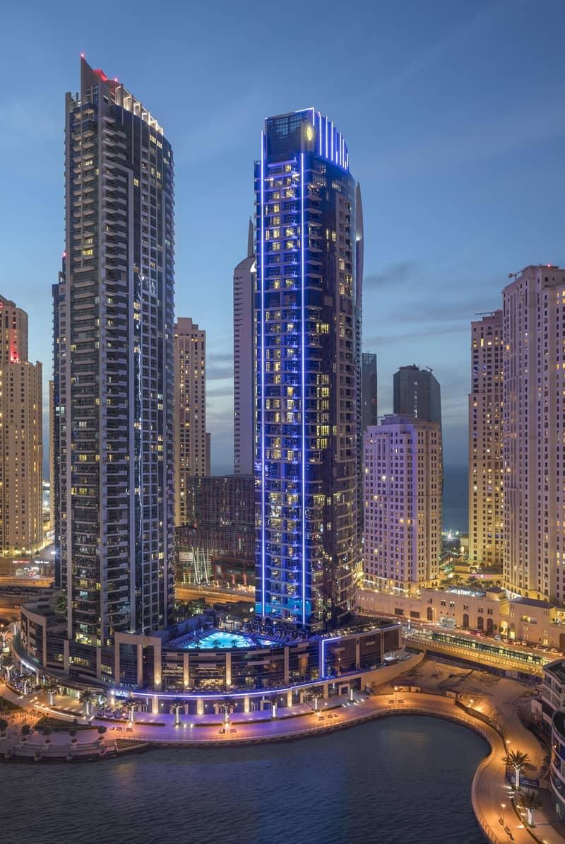 14 Spacious JBR/Marina View Apartment - Fully Serviced