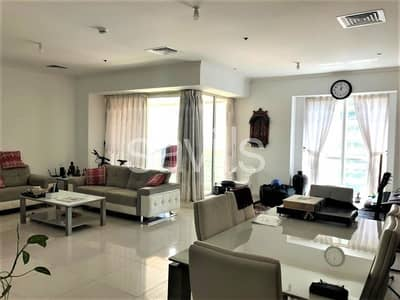 2 Bedroom Flat for Sale in Jumeirah Lake Towers (JLT), Dubai - Large 2 Beds + Maid| Lake view | Next to Metro