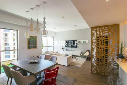 شقة 2 غرفة نوم للايجار في جي بي ار، دبي - Fully Upgraded | 2 Bedroom | Sea View