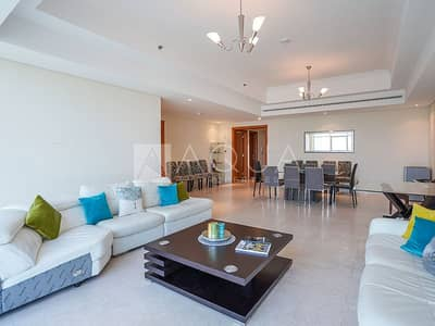 3 Bedroom Apartment for Rent in Jumeirah Lake Towers (JLT), Dubai - Spacious | 3 BR w Maid Room and Landry Room