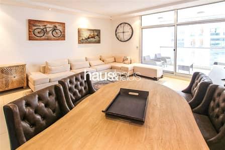 شقة 2 غرفة نوم للايجار في دبي مارينا، دبي - Furnished | Two Balconies | Chiller Free