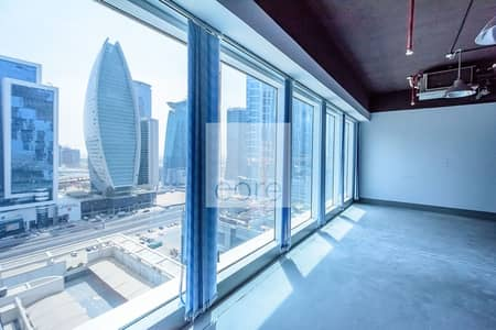 Office for Rent in Sheikh Zayed Road, Dubai - Semi Fitted Office | Open Plan | Low Floor