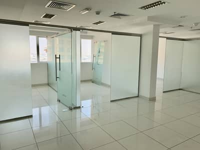 Office for Rent in Al Barsha, Dubai - DIRECT FROM LANDLORD No Commission! Chiller Free Fitted with Partition Office in Yes Business Centre, behind Mall of the Emirates