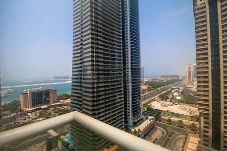 فلیٹ 2 غرفة نوم للبيع في دبي مارينا، دبي - Mesmerizing Partial Sea View I High Floor I 2br