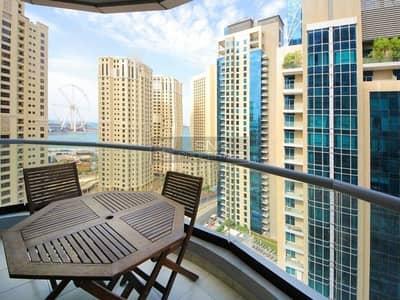 فلیٹ 2 غرفة نوم للبيع في دبي مارينا، دبي - Furnished I Marina View I  2BR in Point
