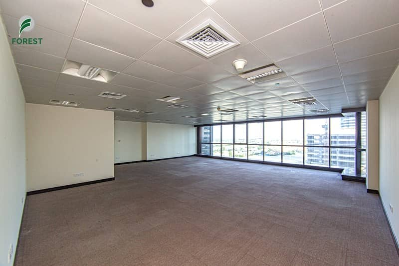 Vacant and Fully Fitted Office Space on Low Floor