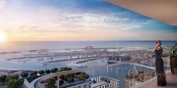 فلیٹ 4 غرف نوم للبيع في دبي هاربور، دبي - ALLURING BEACHFRONT APARTMENT