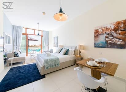 Studio for Rent in Palm Jumeirah, Dubai - FULLY FURNISHED STUDIO WITH GREAT SEA VIEW