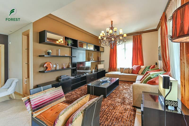 Fully Furnished | 3 BR with Maids Room and Balcony