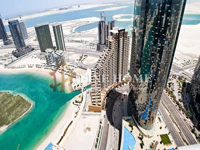 2 Bedroom Apartment for Sale in Al Reem Island, Abu Dhabi - Sea View . Fully furnished  2BR Apartment
