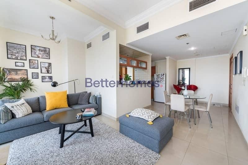 Two Bed|Balcony|Marina View|Higher Floor