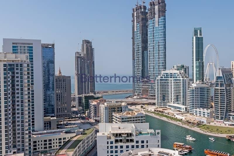 2 Two Bed|Balcony|Marina View|Higher Floor