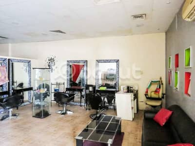 Shop for Rent in Al Qasimia, Sharjah - Fitted Ladies Salon available