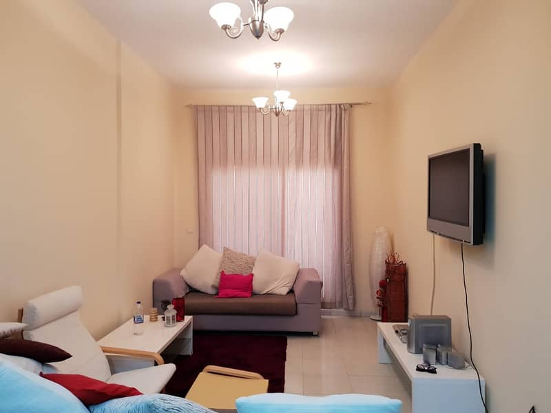 FULL FURNISHED 1 BED FOR SALE WITH LARGE BALCONY