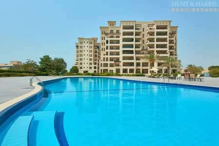 3 Bedroom Apartment for Rent in Al Hamra Village, Ras Al Khaimah - Marina Apartment - Very Spacious  - Great Value