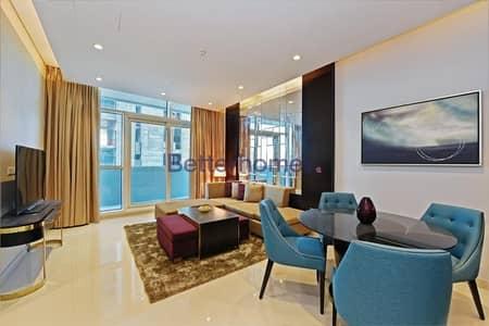 شقة فندقية 1 غرفة نوم للايجار في وسط مدينة دبي، دبي - One Bed | Fully Furnished | Upper Crest