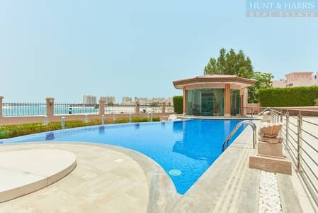 6 Bedroom Villa for Sale in Al Hamra Village, Ras Al Khaimah - Upgraded Beach Front Villa with Private Pool