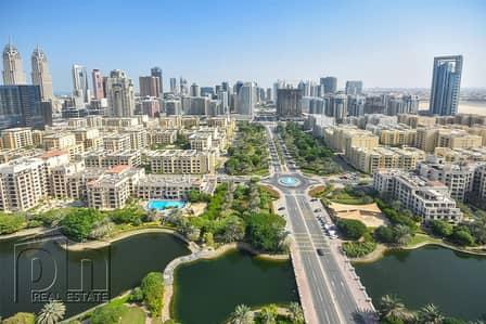 فلیٹ 1 غرفة نوم للايجار في ذا فيوز، دبي - High Specification | Amazing lake views