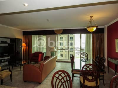 2 Bedroom Hotel Apartment for Rent in Deira, Dubai - Furnished 2 Bedroom Hotel Apartment Available